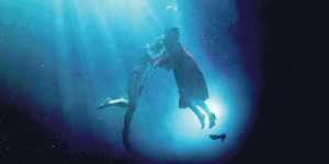 Vandens stichiją įkūnijančių spalvų (mėlynos ir žalios) konfigūracijos nuosekliai lydi kiekviena filmo kadrą.