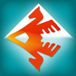 Jaunųjų filologų konkurso logotipas