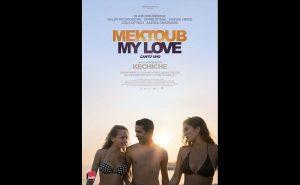 """""""Mektoub, My Love: Canto Uno"""" afiša."""