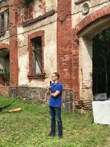 Paveldosaugininkas Salvijus Kulevičius