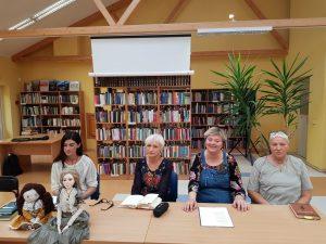 Edukatorės Ignė Zarambaitė, Birutė Jonuškaitė, Neringa Dangvydė Mikalauskienė, Irena Aleksaitė. Organizatorių nuotrauka
