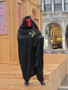 """Tradicinė venecijietiška kaukė """"Bauta"""""""