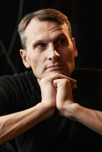 Nacionalinio Kauno dramos teatro aktorius Henrikas Savickis. Nuotrauka iš organizatorių archyvo.