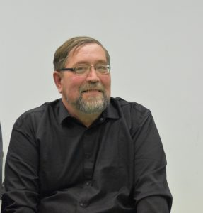 Almanacho sudarytojas poetas Vytautas Kaziela. Nuotrauka iš jo asmeninio archyvo.