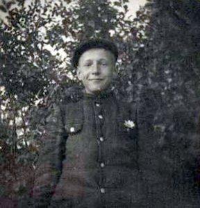 Petras Panavas. Vaikystė Vingirių kaime