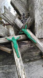 Dviese. Kryžių kalnas II. Neringos Dangvydės nuotrauka