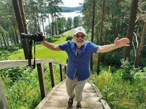 Poetas Vladas Braziūnas. N. Trinkūnienės nuotrauka
