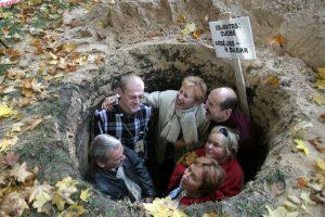 Duobėje su kolegomis 2005 metais. Nuotrauka iš asmeninio archyvo