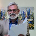 Nacionalinės premijos laureatas poetas Vladas Braziūnas. N. Trinkūnienės nuotrauka