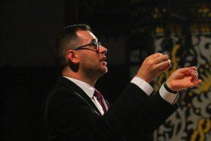 Dirigentas Michał Sławecki. Asmeninio archyvo nuotrauka