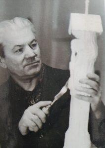 Drožėjas Liudas Tarabilda, 1984