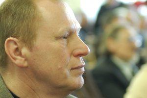 Poetas Vytautas Stulpinas. Vlado Braziūno nuotrauka