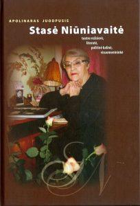 Apolinaro Juodpusio knygos apie Stasę Niūniavaitę viršelis